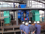Machine de haute résistance de briquette pour le concentré de fer