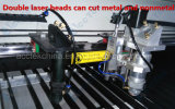 Dubbel Heads Co2 Laser Tube/Lowest Price CNC Metal Cutting Machine 1325 met Reci Co2 Laser Tube