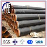Geschweißtes Stahlrohr des China-Fabrik-Zubehör-API 5L X70 Psl2 SSAW 3PE rostfeste Spirale