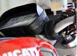 Caso impermeable de la cubierta del sostenedor del montaje del manillar de la motocicleta para el iPhone, Samsung Smartphone