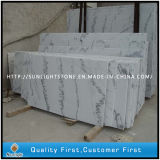 Полированные Гуанси Белый Китай Мраморная плитка для мощения