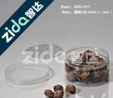 Nahrungsmittelgrad-Raum-Plastikdosen mit einfachen geöffneten Aluminiumkappen