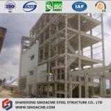Структура стальной рамки для промышленного завода по обработке