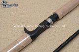 Отливка приманки рыболовная удочка углерода главного качества ручной работы