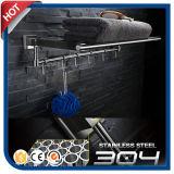 Mensole d'acciaio sanitarie del tovagliolo del hardware degli articoli 304#Stainless per la stanza da bagno