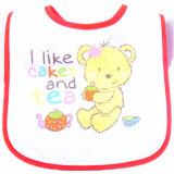 顧客用漫画によって印刷される綿のテリーによってカスタマイズされる昇進の赤ん坊の胸当て