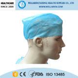Устранимые Bouffant Scrub шлемы с задняя эластичной и связями