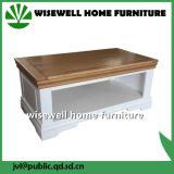 Zweifarbiges Eichen-Wohnzimmer-hölzerne Möbel für Fernsehapparat-Standplatz (W-T-859)