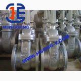 Valvola a saracinesca industriale dell'acciaio di getto della flangia dell'azionatore dell'olio di API/ANSI/JIS