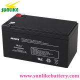 Batería de plomo recargable 12V7.2ah de la UPS de la aprobación del Ce para las eléctricas