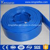 Mangueira de alta pressão do PVC Layflat do dever médio
