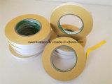 黄色い二重味方されたティッシュの刺繍テープか刺繍テープ