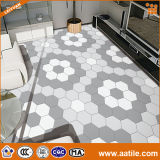 Floor와 Wall를 위한 간단한 Pattern Hexagonal Ceramic Tile