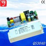 30-46W 0-10V Dimmable ningún programa piloto del triángulo LED del parpadeo con el Ce QS3040