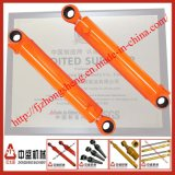 Cilindro hidráulico estándar de la maquinaria de construcción