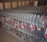 Engranzamento galvanizado usado da cerca da ligação Chain/fio do diamante