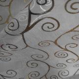 Fabbricato di vetro stampato dorato del filato