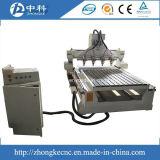 Multi Assen 4 CNC van Hoofden Router met Roterend