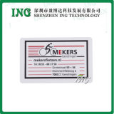 Ing Blank White Card Standard Size para Customized Card