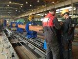 Découpage de plasma de commande numérique par ordinateur d'acier en forme de tuyau et machines taillantes pour le projet de structure métallique