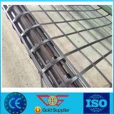 para paredes de retenção/Slop proteger o preço composto de Geogrids do Aço-Plástico biaxial plástico de aço da soldadura Geogrid/