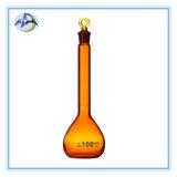 Ballon jaugé en verre de Borosilicate pour la verrerie de laboratoire