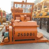 Los mezcladores concretos de la serie de Js son los mezcladores forzados árbol horizontal doble Js500