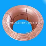 Tubo de cobre de la bobina llana de la herida para el acondicionador de aire de Mitsubishi