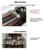 Base termica di massaggio di sanità della giada piena elettrica del corpo
