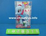 Il cavallo del bambino dei giocattoli dei bambini, peluche & ha farcito il cavallo impostato (1028312)