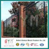 錬鉄の溶接されたピケットの網の塀か装飾用の鉄の鋼鉄