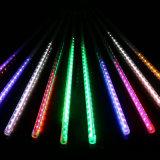 50cm 10 acquazzone di meteora esterno del tubo 78LED 2835SMD LED illuminano le idee della decorazione di natale per le cerimonie nuziali del partito di natale
