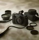 Lente larga ótica do ângulo 0.45X de 25mm para a fotografia