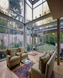 vidro Tempered da alta qualidade de 12mm para casa de vidro pré-fabricada