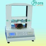 Máquina de prueba de papel de la compresión del tubo