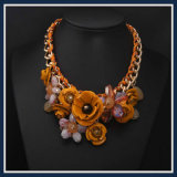 De nieuwe Halsband van de Juwelen van de Manier van de Tegenhanger van de Bloem van het Punt Multi