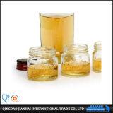 O frasco de vidro do frasco quente do armazenamento da venda com grava