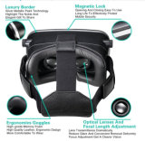 2016 Google Cardboard Vr Box 2.0 Versão 2 Vr Virtual Reality Glasses + Smart Bluetooth Wireless Mouse / Remote Control