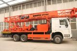 Hfc400 트럭에 의하여 거치되는 시추공 드릴링 리그