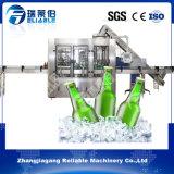 Máquina de engarrafamento automática do vidro de cerveja do vinho da vodca