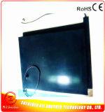 Calefator Heated 220V 800W 750*550*15mm da borracha de silicone do preto da almofada do pneumático