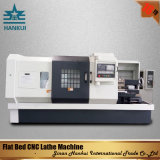 Máquina horizontal do torno do CNC da base Ck6136 e Ck6140 lisa