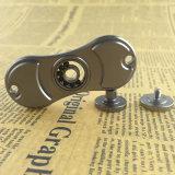 Aleación de aluminio del arco iris la hoja 2 para el hilandero de la mano del juguete del hilandero + el rectángulo del metal