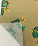 Il cotone di tela ha mescolato il tessuto stampato dell'indumento, tessuto di tessile domestico del sofà