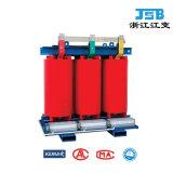 tipo seco transformador de la resina del molde 6~35kv de potencia de interior con recinto