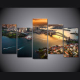 HDはキャンバス部屋の装飾プリントポスター映像のキャンバスMc068でシドニーオーストラリアの都市景観の絵画を印刷した