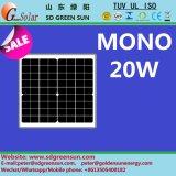 18V 20W Monosolarbaugruppe für System 12V (2017)