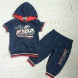 スクエア6233服装の子供の摩耗のための短い袖の方法男の子のスーツの衣服