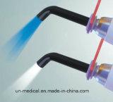 DEL dentaire corrigeant la lumière avec la source lumineuse bleue et blanche