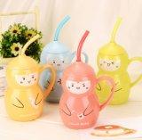 Calabash su ordinazione di ceramica divertente della tazza di caffè della tazza di tè di disegno della novità
